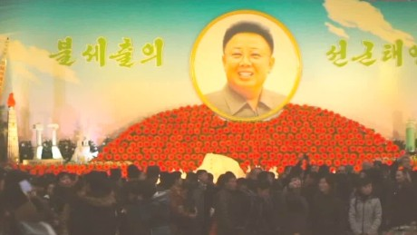 North Korea celebrates late leader's birthday