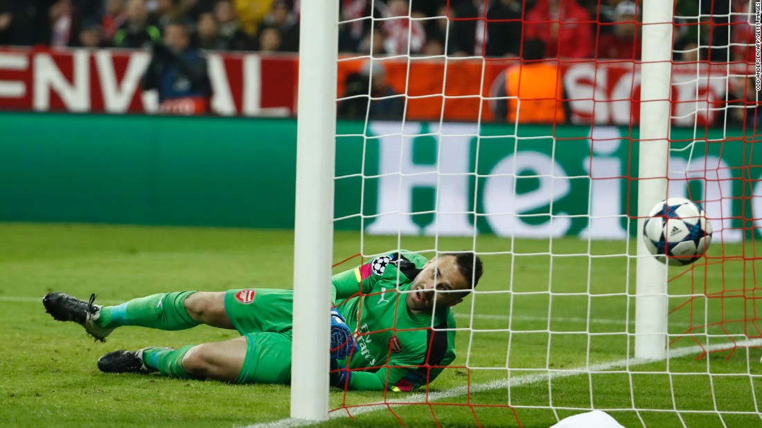 The 5-1 reverse mirrored Arsenal's last visit to Bayern's Allianz Arena in last season's group stages. Although Arsenal did recover from that reverse to reach the final 16 last year, they were eliminated after being convincingly beaten 5-1 on aggregate by Spanish champions Barcelona.