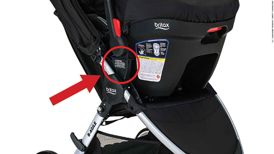 Britax Stroller Recall More Than 700 000 B Agile Bob Motion