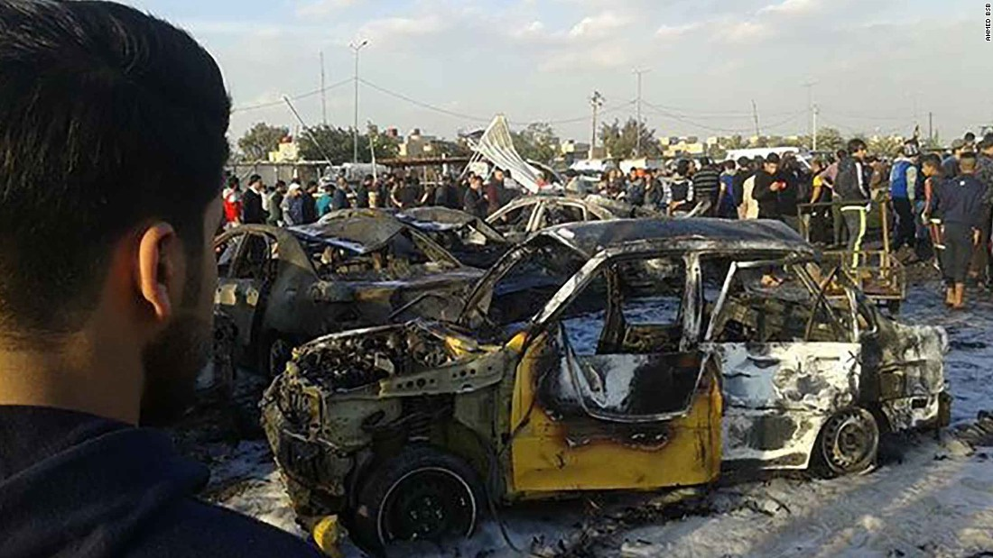 ISIS claims responsibility for deadly Baghdad blast