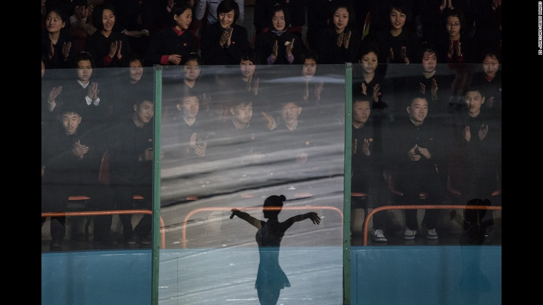 "People attend a figure-skating festival in Pyongyang, North Korea, on Wednesday, February 15. <a href=""http://www.cnn.com/2017/02/09/world/gallery/week-in-photos-0210/index.html"" target=""_blank"">See last week in 39 photos</a>"
