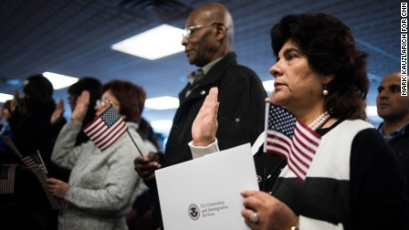 Reborn in the USA: Inside a citizenship ceremony - CNN