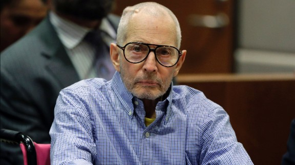 Robert Durst appears in court for a preliminary hearing on Dec. 21 in Los Angeles.