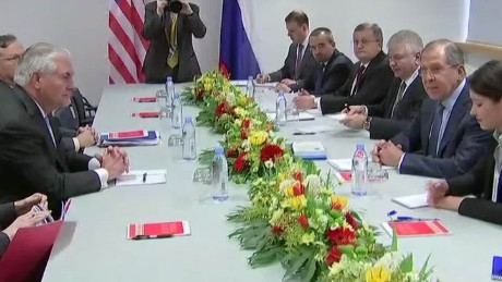 US Secretary of State meets Russian counterpart
