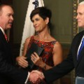 Mick Mulvaney swearing in 0216