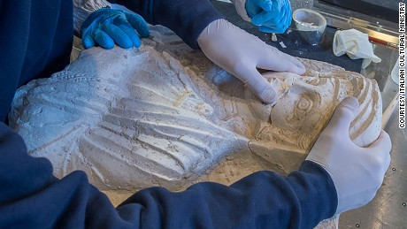 Palmyra treasures restored after ISIS hammer attack