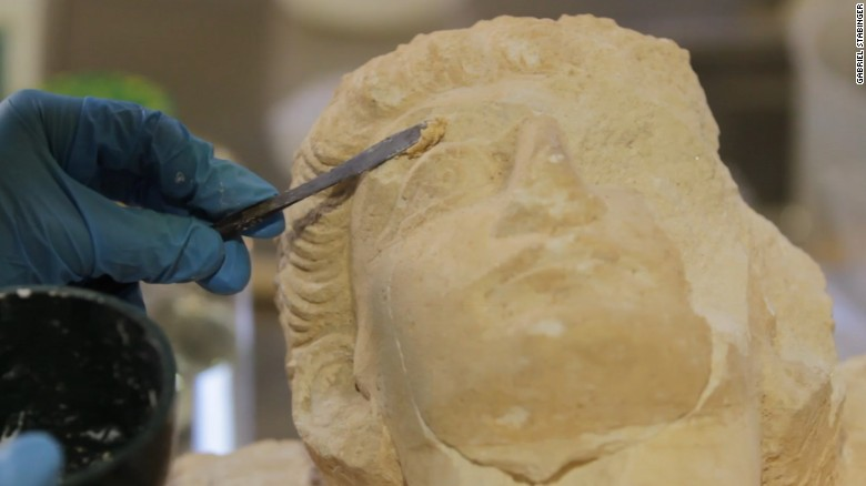 Saving the Palmyra treasures destroyed by ISIS