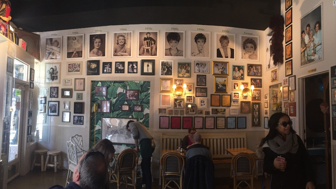 The Rue La Rue Café is an homage to the late actress Rue McClanahan.