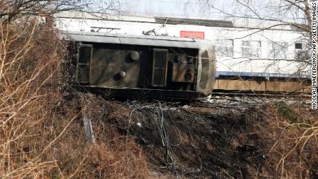 1 killed in Belgium train derailment - CNN
