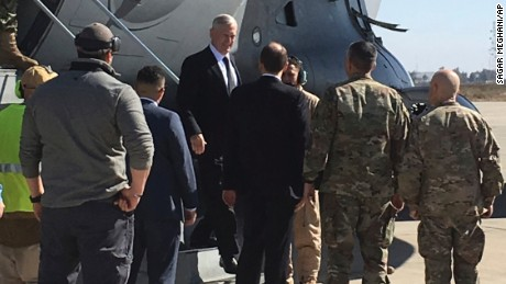 US Defense Secretary: We're not in Iraq to seize oil
