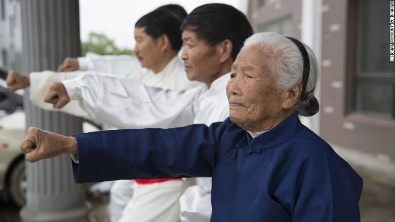 Meet China's kung fu granny