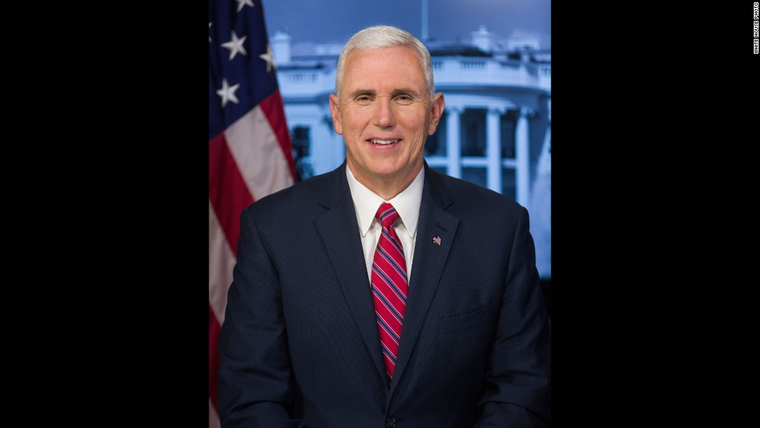 Republican Mike Pence became the 48th Vice President in 2017. Pence formerly served as governor of Indiana, and he was a congressman from 2001-2013.