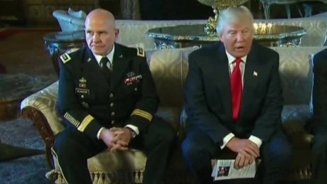 donald trump picks h.r. mcmaster new national security adviser sot_00000000