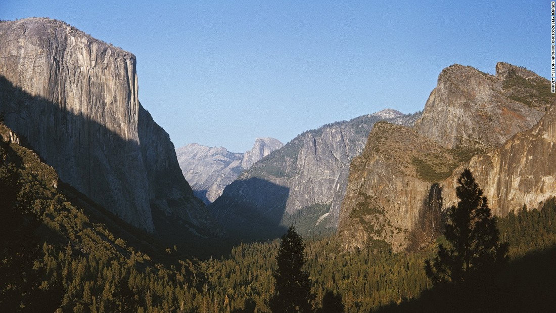 Two climbers fall to their deaths at Yosemite National Park