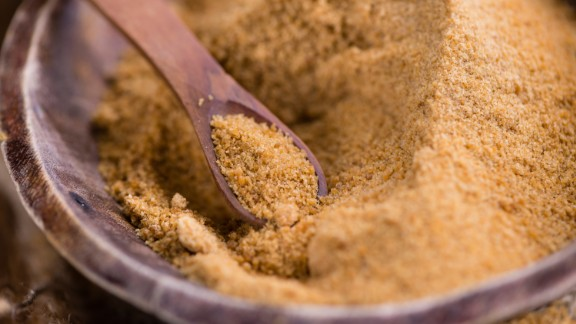 """Coconut sugar provides small amounts of nutrients and contains inulin, a naturally occurring, indigestible carbohydrate that acts as a prebiotic, or """"food,"""" for beneficial gut bacteria."""