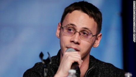 Samuel Ronan of Ohio, a candidate for Democratic National Committee chairman, speaks on February 11, during a Democratic National Committee forum in Baltimore.