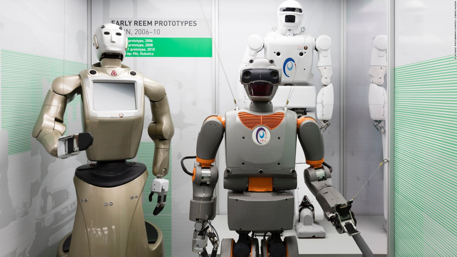 What The Faces Of Our Robots Tell Us About Ourselves Cnn Style