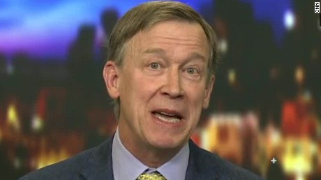 Hickenlooper talks to CNN about Trump's immigration policies