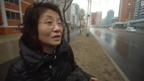 Yu Bong Suk, a North Korean teacher, says she doesn't care who is in power in the United States.