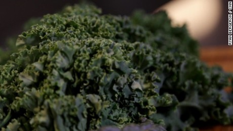 Kale contains more calcium than milk per calorie.
