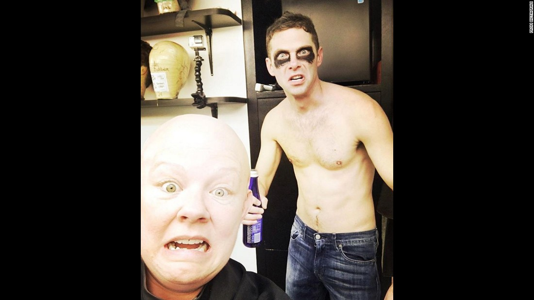 """Just two old friends shooting the breeze backstage,"" said actress Melissa McCarthy, <a href=""https://www.instagram.com/p/BQL6LMTlZMY/"" target=""_blank"">who posted this ""Saturday Night Live"" selfie</a> with Mikey Day on February 6. McCarthy has been parodying White House press secretary Sean Spicer on the show."