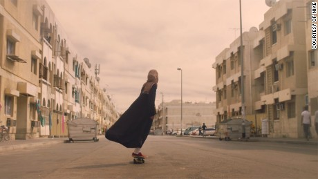 A Nike commercial features five prominent female athletes from the Arab world.