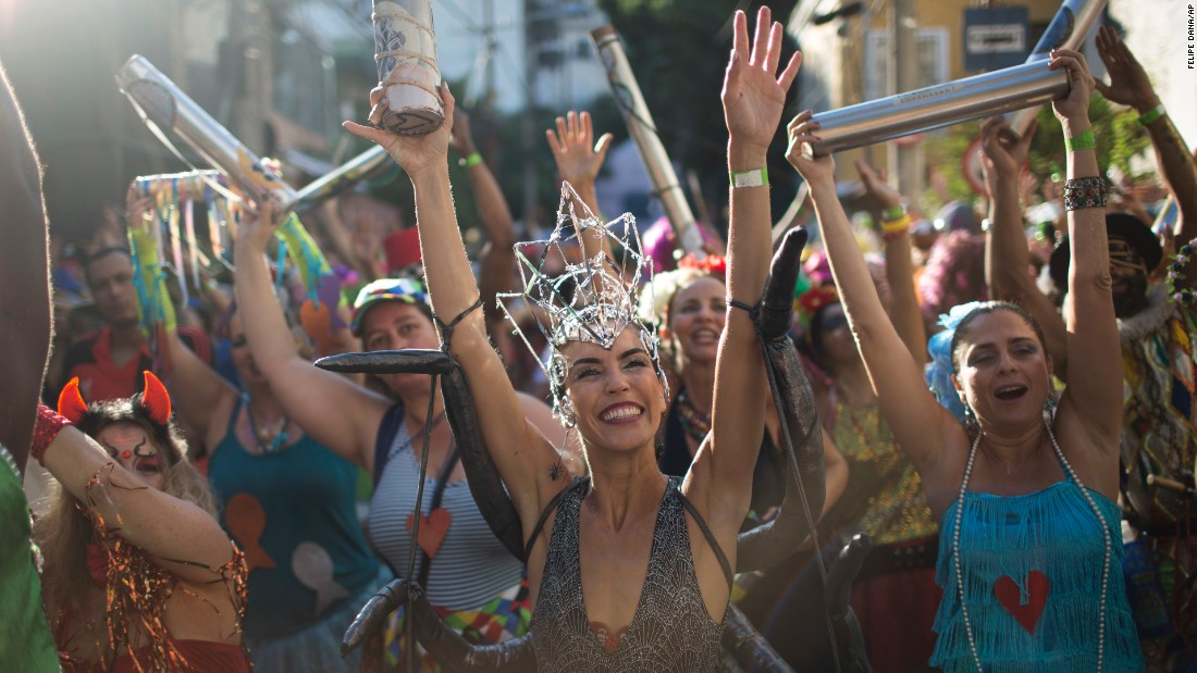 <strong>Rio de Janeiro, Brazil:</strong> Annual Carnival celebrations got underway in Rio de Janeiro in February, with hundreds turning out for the Ceu na Terra (Heaven on Earth) street party on February 18. <br />