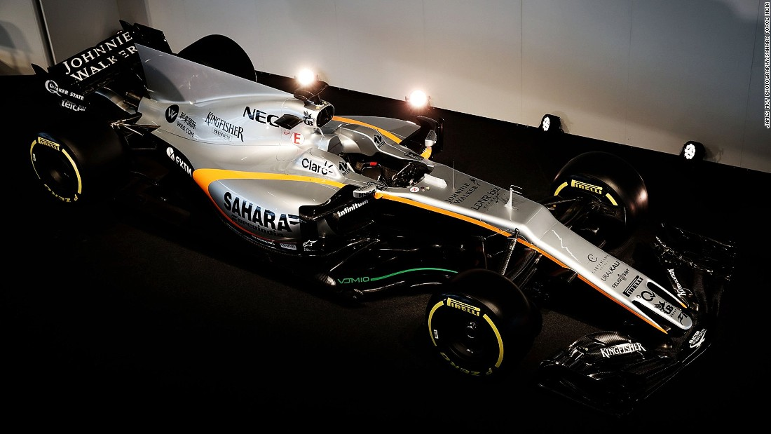Sahara Force India F1 launched its  VJM10 car for the 2017 season on Wednesday February 22.