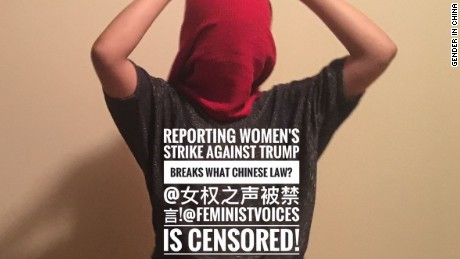 Chinese internet users have voiced support for the gagged feminist accounts.