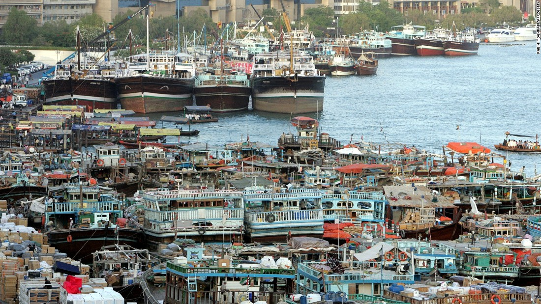 Thousands of dhows still navigate Dubai Creek and carry goods across the Gulf, although many are unable to compete with modern cargo vessels and are having to find alternative uses.