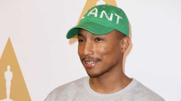 Pharrell Williams' boyish good looks -- as seen in February 2017 here at the 89th Annual Academy Awards Nominee Luncheon in Beverly Hills, California - had  the Internet convinced in 2014 that he's secretly a vampire. He's not, obviously, but we understand why many can't believe that this 44-year-old superstar looks so young. Take a look back at Pharrell through the years and see if you can spot any aging: