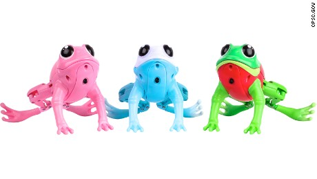 more than 400 000 plastic toy frogs recalled cnn