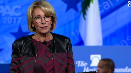 Under Education Secretary Betsy DeVos, department policies on transgender students have changed.