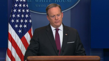 sean spicer white house briefing marijuana sot_00000000.jpg