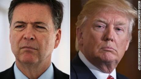 Trump calls Comey an 'untruthful slime ball'