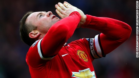 Wayne Rooney is Manchester United and England's all-time leading scorer.