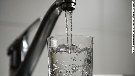About 66% of all US residents receive fluoridated water.