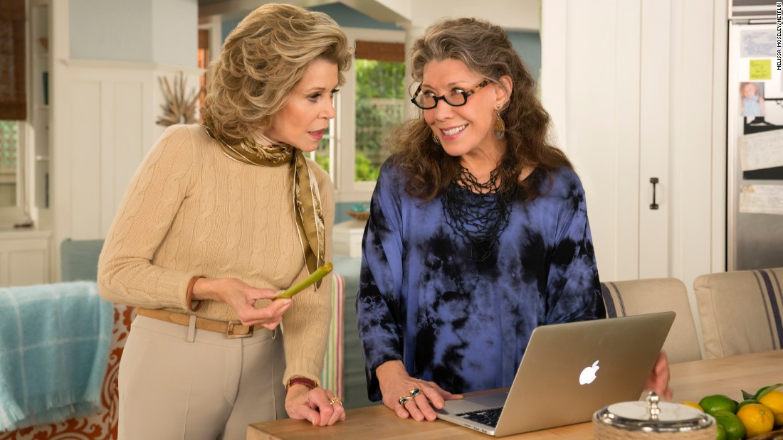 "<strong>""Grace and Frankie"" season 3: </strong> Jane Fonda and Screen Actors Guild Lifetime Achievement Award winner Lily Tomlin return in this comedy about a pair of frienemies whose husbands leave them for each other. <strong>(Netflix)</strong>"