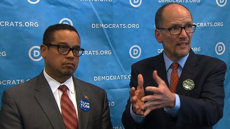 Tom Perez facing divided Democratic party?