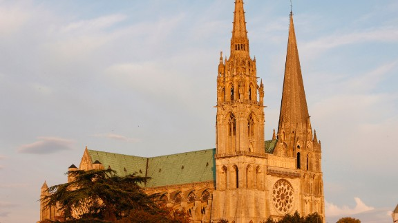 Chartres is home to one of Europe