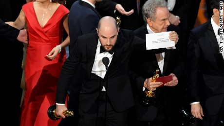 """Remember when """"La La Land"""" was announced the 2017 Best Picture winner over """"Moonlight"""" due to an envelope flub? Blame the accountants."""