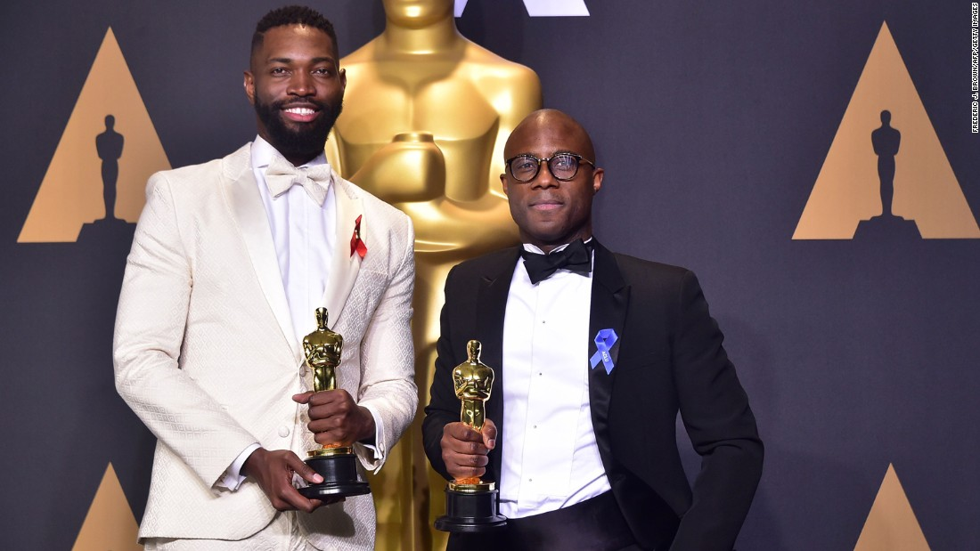 "The African-American screenwriting team Tarell Alvin McCraney and Barry Jenkins won best adapted screenplay for ""Moonlight"" in 2017."