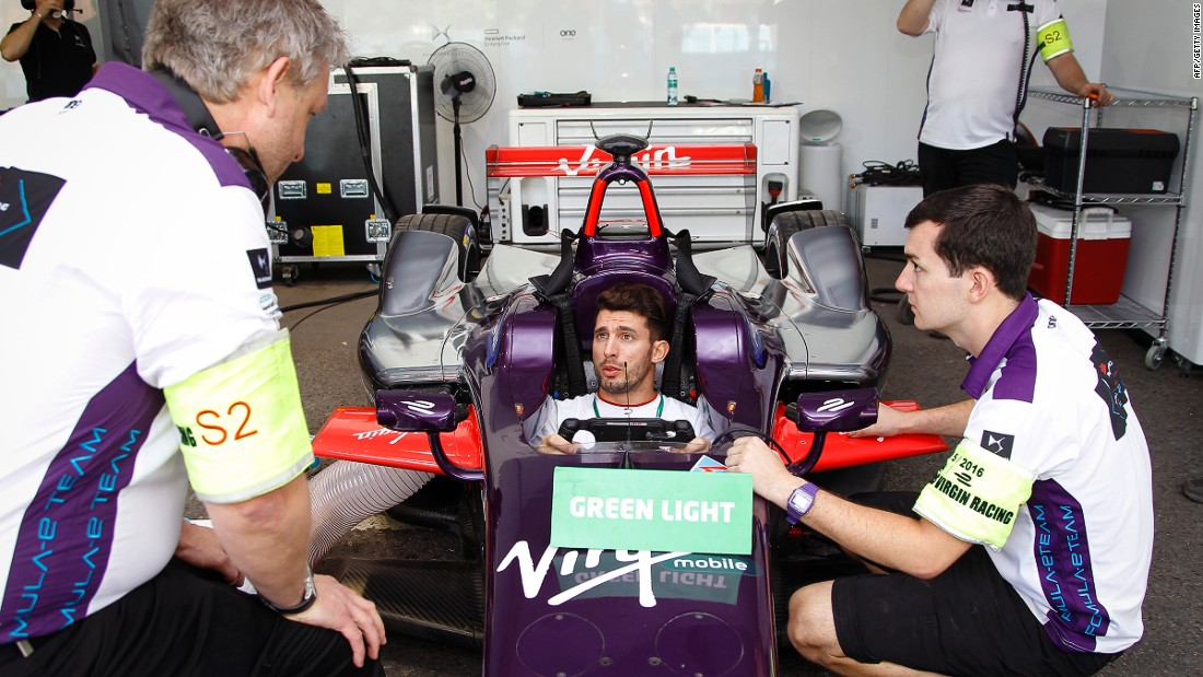 "Lopez now drives for the DS Virgin Racing Formula E team alongside Briton Sam Bird. ""Formula E is growing so fast and you have fantastic drivers and teams. For me, it was a step forward so I'm really happy to have this challenge,"" Lopez said."