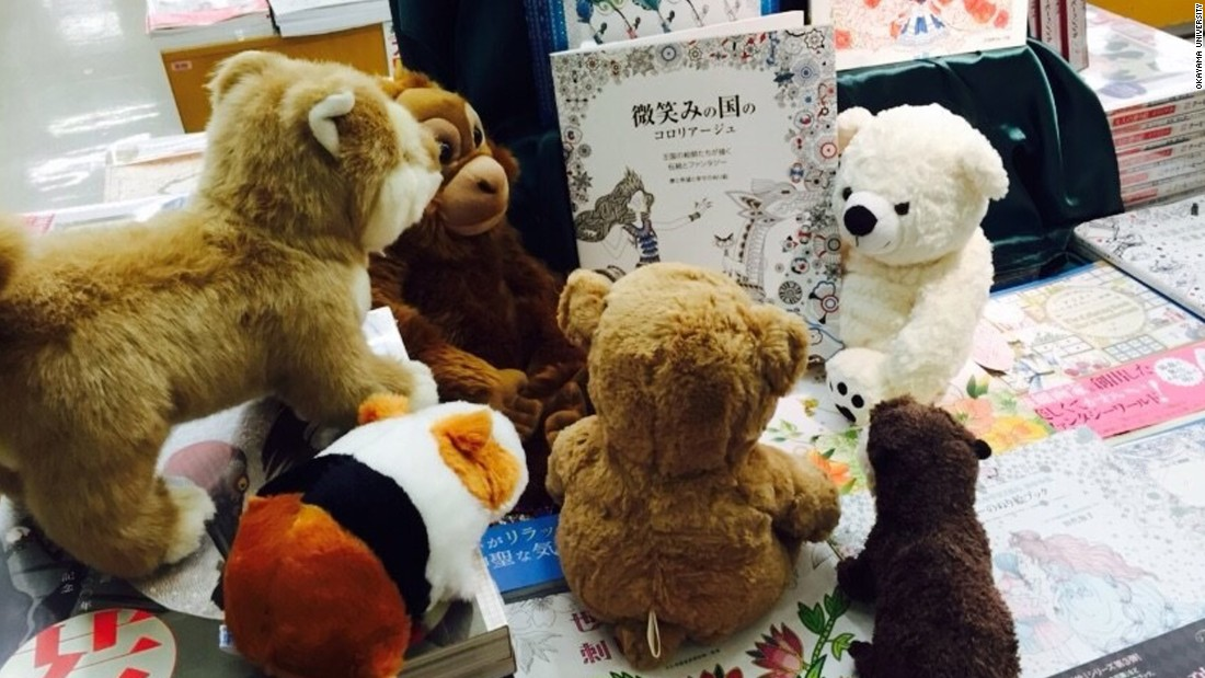 """Surprisingly, not only did the children show interest in the picture books, but they also began to read to their stuffed animals,"" Yoshihiro Okazaki of Okayama University, lead author of the Japanese study."