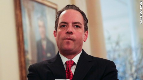 Reince Priebus, shortest-serving chief of staff in White House history