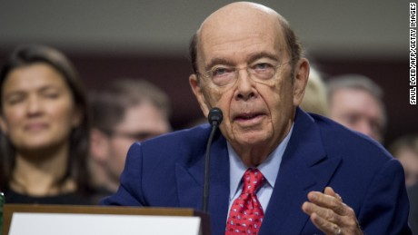Business investor Wilbur Ross, Jr., testifies during his confirmation hearing for Secretary of Commerce before the Senate Commerce, Science and Transportation committee on Capitol Hill in Washington, DC, January 18, 2017.