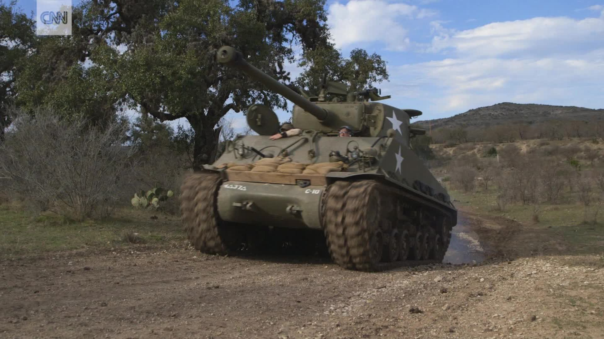 You can drive a tank in Texas