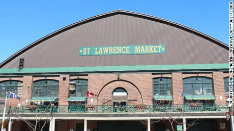 Whatever the weather, exotic vegetables are available in St Lawrence Market.