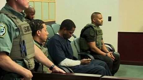 Markeith Loyd is arraigned in a Florida court.