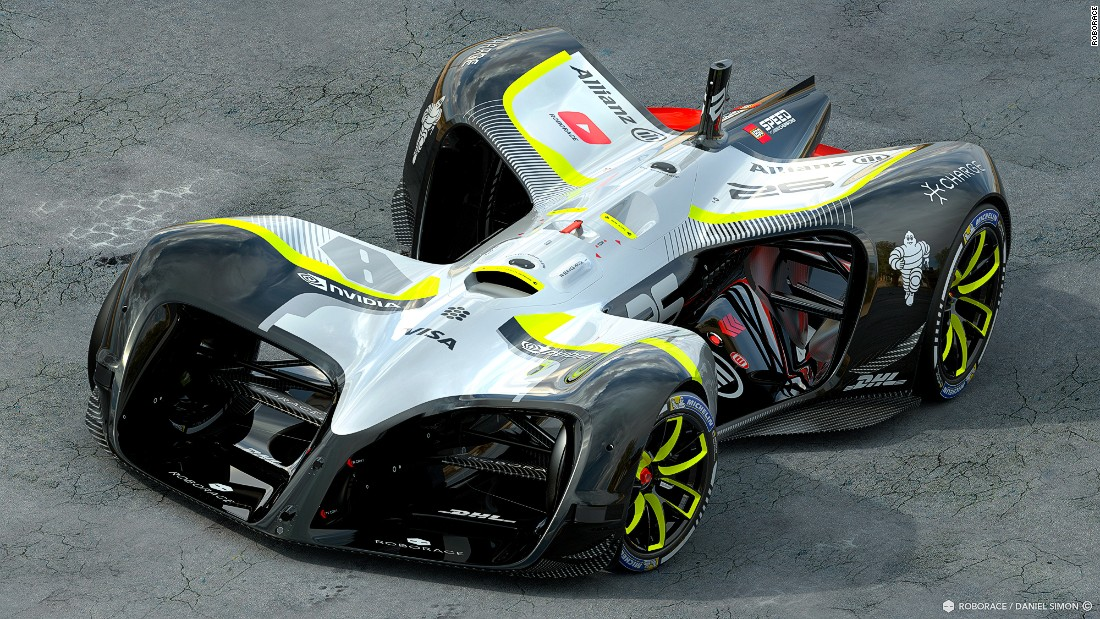 The AI vehicle has been designed to compete in a field of 20 Robocars. Driverless races will be form part of the entertainment at Formula E ePrix weekends. The all-electric race series is currently midway through its third season.
